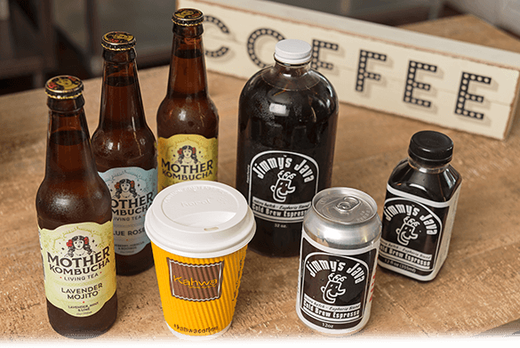 Local Craft Beer and Wines / Kombucha Teas