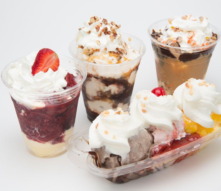 Larry's Ice Cream Sundae